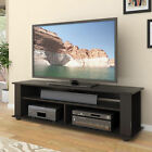 Large TV Stands for flat screen 55 65 entertainment center storage console wood