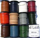 Genuine Natural Leather Cord Goat Necklace Bracelet Lace 1mm, 2mm Round per yard
