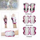 6PCs Kids Knee Elbow Wrist Pads Sport Skate Cycle Protective Safety Gear