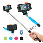 Bluetooth Selfie Stick Monopod Camera Extension Arm Mobile Phone iPhone Samsung