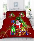 3D DIGITAL PRINTED CHRISTMAS GIFTS DUVET QUILT COVER BEDDING SET WITH PILLOWCASE