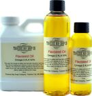 Flax seed oil, Soap making supplies. Organic unrefined cold pressed linseed oil.