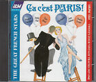 Ca C'est Paris!   The Great French Stars : Various Artists CD FASTPOST