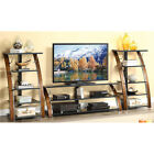 "Whalen Entertainment Center 70"" TV Stand and/or audio video tower Cherry NEW"