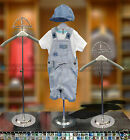 Child Mannequin Shop Display Clothes Hanger Kids Dummy With Cap Holder