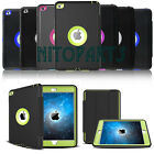 Shockproof Heavy Duty Hard Case & Smart Cover for Apple iPad 4 3 2 mini Air Lot
