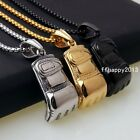Fashion Men's High Quality Stainless Steel Sporty Boxing Glove Pendant Necklace