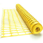 GroundMaster plastic mesh barrier safety fence with metal steel fencing pins