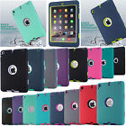 Shockproof Heavy Duty Hard Case Cover For Apple iPad Mini 1/2/3/4 iPad 2/3/4 Air