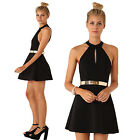 Sexy Women's Summer Casual Party Evening Cocktail Prom Short Mini Dress Back