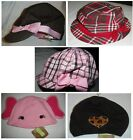 Crazy 8 hat 4 5 6 7 8 9 10 12 14 UPICK NWT brown pink red navy LOTS OF STYLES