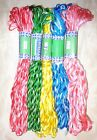 VARIEGATED SILK EMB THREAD 5 SKEINS Bunch 400 mts S13 Low Rate UK indien #OI5YT