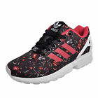 Adidas Originals ZX Flux Womens Casual Classic Trainers Black Floral