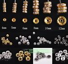 Wholesale Lot 4/5/6/8/10mm Czech Glass Crystal Rhinestone Rondelle Spacer Beads