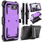 For Samsung Galaxy J3 Emerge/ Prime/ Luna Pro Phone Case Hybrid Clip Stand Cover