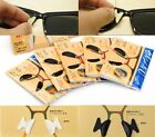 Sunglass Eyeglass Glasses Spectacles Anti Slip Silicone Stick On Nose Pad Gift
