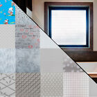 Decorative Window Film, Privacy Tint / Glass Tinting Frosted Matte Air Free Tint