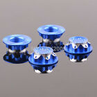 4pcs CNC Dust Proof Wheel Hub Cover Aluminium 17mm For 1:8 RC TEAM C HSP NANDA