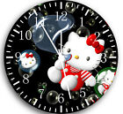 """Hello Kity wall Clock 10"""" will be nice Gift and Room wall Decor W06"""