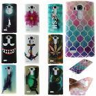 Rubber Soft TPU Silicone back Phone Case Cover Skins For LG Alcatel Phone Skin