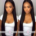 Full Lace Wigs Human Hair Straight Brazilian Remy Hair Wig For African Americans