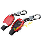 ABS & Metal Car Smart Key Holder Fobs Shell Bag for Benz CLA-Class C117 10-16