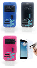 """uk leather case cover support window asus zenfone go - 5"""" zb500kl"""