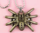 P031 Acrylic pendant iron or Stainless Steel chain you pick spider style new hot