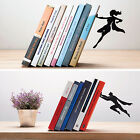 ARTORI Design Book & Hero Supergal Bookend Book End Stopper Holder Black Metal