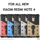 Armor TPU+PC With 360° Rotation Holder Back Cover Case for Xiaomi Redmi Note 4