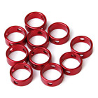 Tent Awning Cord Rope Fastener Red  Round Anti-slip Adjustment Fixed Buckle