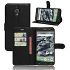 Flip Stand PU Leather Soft TPU Cover Wallet Case for Alcatel Series Phones