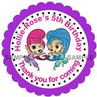 Personalised Party stickers For Sweet Cones etc, 3 Sizes - Ref 07-51