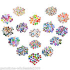 10PCs HOT Mixed Oval Cabochon Glass Embe1lishments Jewelry Findings 25x18mm GW