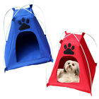 New Pet Tent Dog Outdoor Wearable House Shelter Foldable Cat Kennel Bed W/Mat