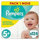 Pampers Premium Protection Nappies Diapers Month Saving Pack Size 0 1 2 3 4 5 5+
