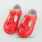 New Cute Baby Toddler Walking Shoes Infants Flowers Single Shoes Size 5-7.5