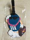 6pcs/lot M&M's Luggage Tag Animated cartoon Travel Suitcase Baggage