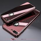 Fashion Luxury 360° Shockproof Slim Hard Case Tempered Glass For iPhone 6 7 Plus
