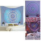 Mandala Psychedelic Wall Hanging Hippie Bedspread Decor Tapestry Blanket Throw