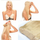 "15""-20"" 100% Remy Hair Extension  Invisible Wire Headband Crown Extensions 80G"