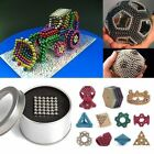 3/5mm Cube Magnetic Magnet Buckyballs Young Adults DIY Toys Spacer Beads Jewelry