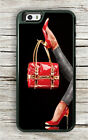 FASHION RED BAG AND SHOES CASE FOR iPHONE 7 OR 7 PLUS -vbt6Z