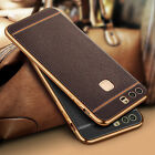 360° Shockproof Plating Ultra-thin Soft TPU Leather Case Skin Cover For Huawei