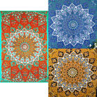 Star Mandala Psychedelic Wall Hanging Hippie Bedspread Decor Tapestry Blanket