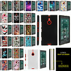 For Nokia Lumia 1520 Ultra Slim Fitted Snap On Case Unique Designs + Stylus Pen