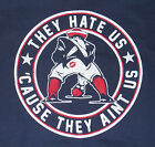 brand new AFC champion New England Patriots they hate us tee shirt Tom Brady