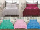 Внешний вид - Katy 3 Piece Mini Ruffle Comforter Set Bed Cover New Arrival All Sizes 9 Colors!