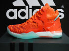 NEW AUTHENTIC ADIDAS D Rose 7 Primeknit Basketball Shoes - Solar Red; AQ7743