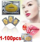 1-100pcs Crystal Collagen Lip Mask Patch Anti Ageing Wrinkle Moisturising Lips
